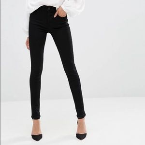 AGOLDE Sophie High Rise Jeans Luxe